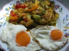 Kartoffel-Gemüse- Pfännchen- - Rezept