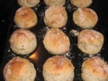 Muffins-Brötchen mit Buttermilch und Leinsamen - Rezept