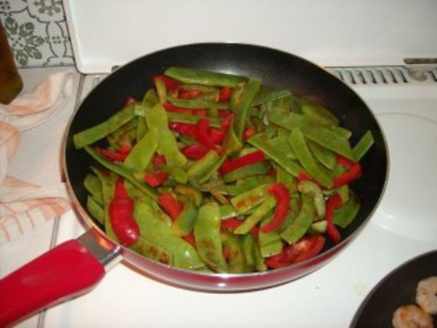 Garnelen-Salat, lauwarm - Rezept - Bild Nr. 2