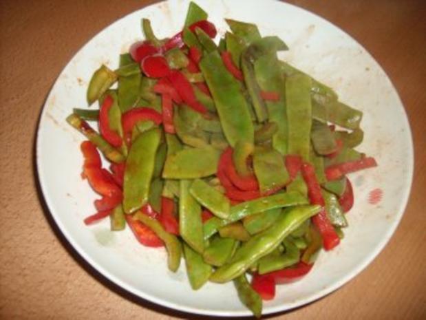 Garnelen-Salat, lauwarm - Rezept - Bild Nr. 3