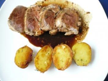 Rezept: Schweinefilet mit Balsamico