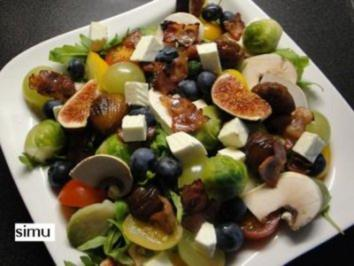 Rezept: Herbstlicher Salat