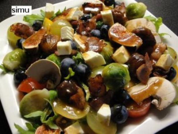 Herbstlicher Salat - Rezept - Bild Nr. 5