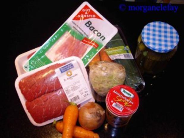 Rinderroulade, gefüllt - Rezept - Bild Nr. 2