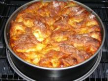 Rosenkuchen mit Apfel - Rezept