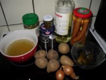 Kartoffelgemüse mit Würstchen - Rezept