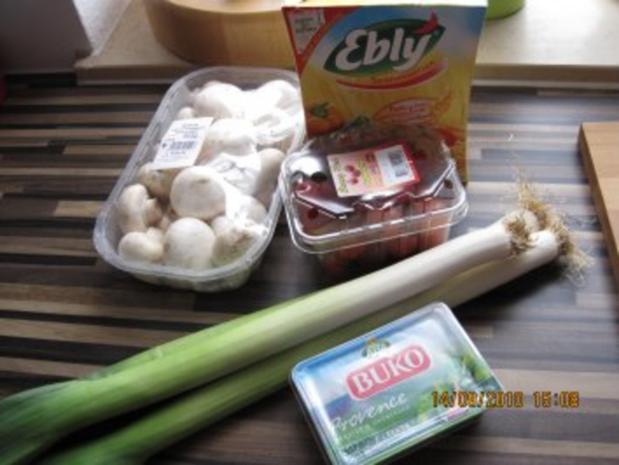 Ebly - Gemüse - Pfanne mit Frischkäse - Rezept - Bild Nr. 2