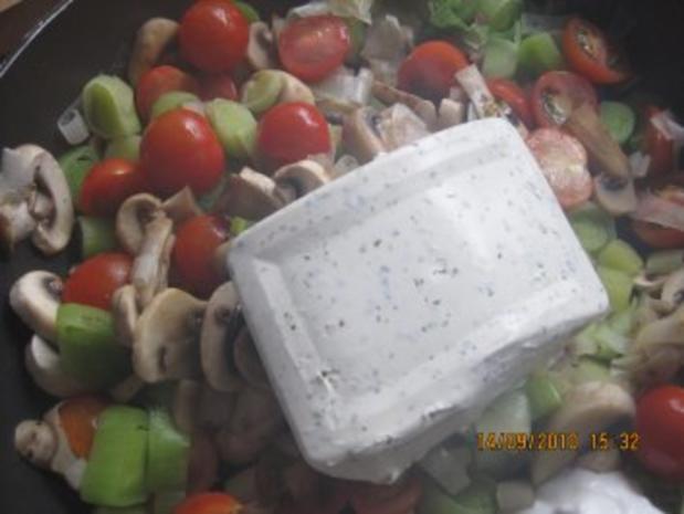 Ebly - Gemüse - Pfanne mit Frischkäse - Rezept - Bild Nr. 6