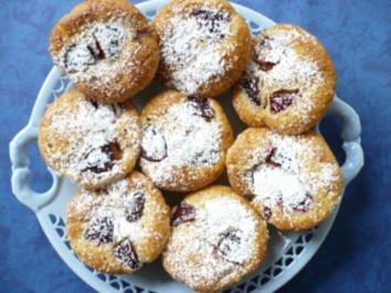Rezept: Zwetschgen - Marzipan  - Muffins