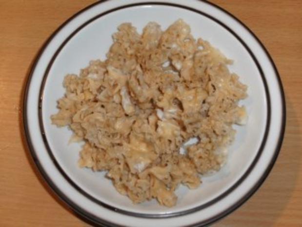 Pilze: Krause Glucke - Suppe - Rezept - Bild Nr. 3