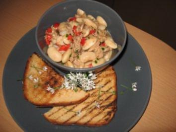 Weißer Bohnen-Thunfischsalat - Rezept