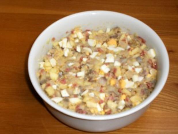 Heringshäckerle - Rezept