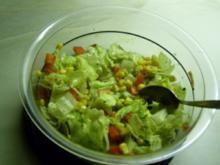 Mein super schneller Salat - Rezept
