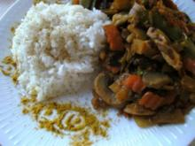 Asia -TK- Gemüse-Pfanne mit Reis - Rezept
