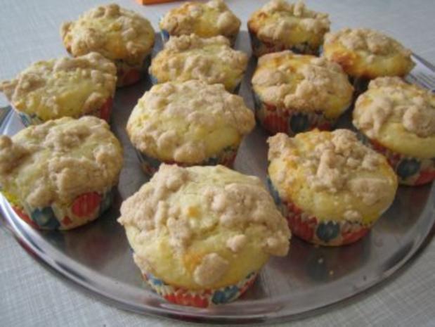 Mohn - Vanille - Muffins mit Zimtstreußeln - Rezept - Bild Nr. 2