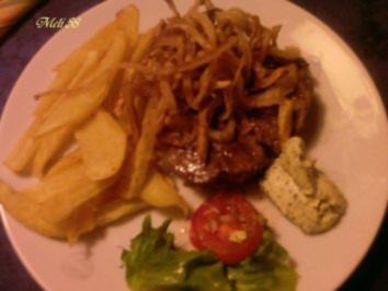 Fleisch: Rinderfilet mit Röstzwiebeln - Rezept