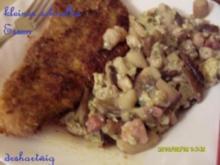 Pfannengericht~Schnitzel mit Pilze - Rezept
