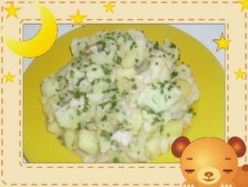 Blumenkohl-Kartoffeln mit Schnittlauch - Rezept