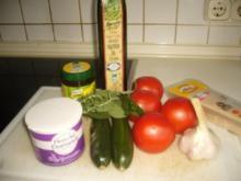 Tomaten-Zucchini aus dem Ofen - Rezept