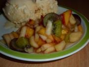 Dessert: Obstsalat - Rezept