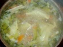 Hühnersuppe- schnell und gut - Rezept