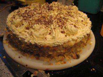 Torte- Gruß an Rosalinde - Rezept