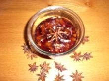Zwetschgenmarmelade mit Sternanis - Rezept