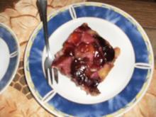 Auf den Kopf gestellter Pflaumenkuchen - Rezept