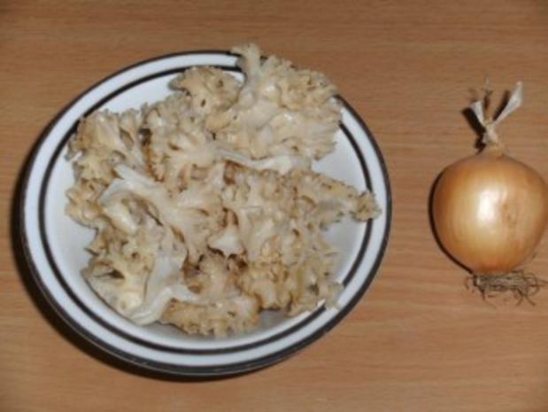 Pilze: Krause Glucke geschmort - Rezept - Bild Nr. 2