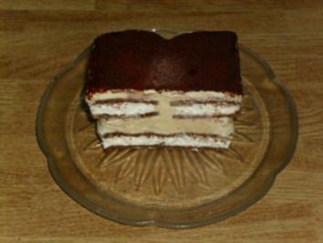 Milchschnitten-Tiramisu-Kuchen - Rezept