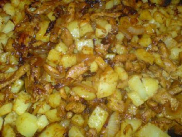 Bratkartoffel-Gyros-Pfanne - Rezept - Bild Nr. 2