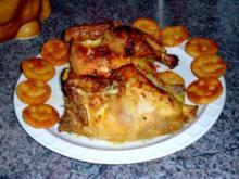 Hendl vom Grill - Rezept