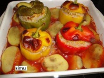 Gefüllte Paprika - Rezept