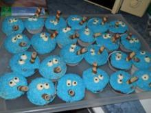 Kürmmelmonster Maffin oder Kuchen - Rezept