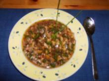 Champignon-Suppe - Rezept