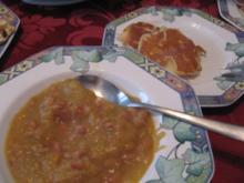 Suppe- Etwas warmes braucht der Mensch - Rezept