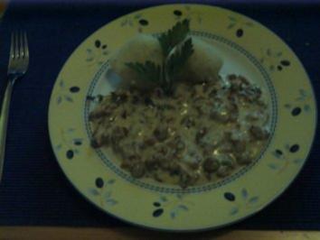 Rezept: Eierschwämme in Rahmsauce