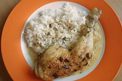Hühnerschenkel mit Kräuterkruste - Rezept