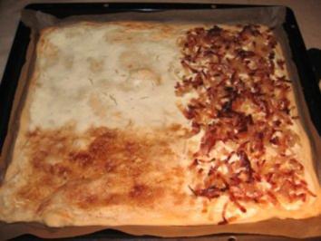 Badisch-Elßässisches Flammenkuchen-Drio - Rezept