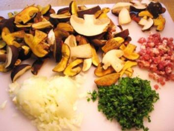 Waldpilz-Pfanne aus 3 verschiedenen Pilzen ... - Rezept