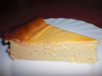 Käsekuchen mit Mandeln - Rezept