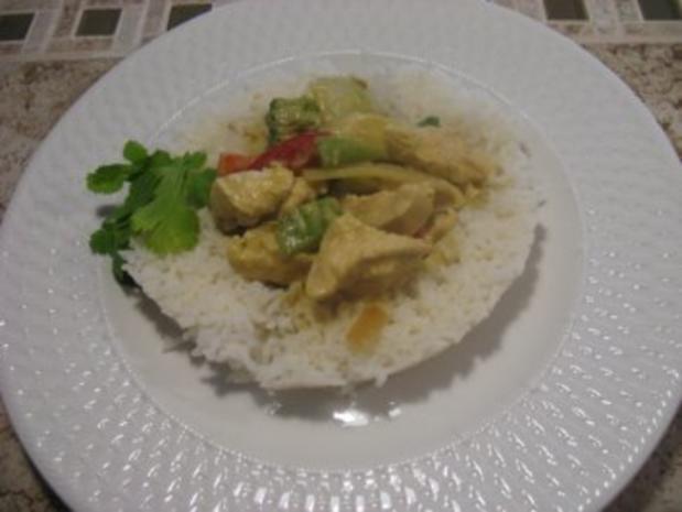 Thai Haehnchenbrust in gruener Currysosse - Rezept - Bild Nr. 6