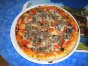 Pizza Mammamia - Rezept
