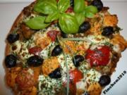 Die schnelle Fladen-Pizza - Rezept