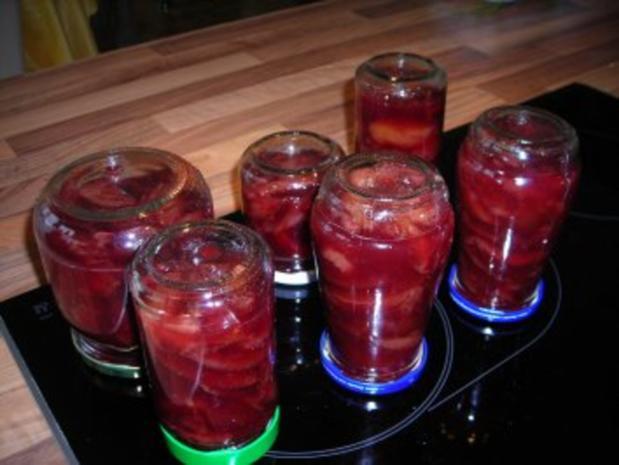 Rotweinpflaumen - Rezept - Bild Nr. 2