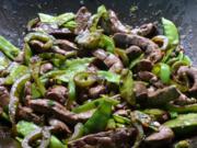 Kalbsleber-Gemüsepfanne japanisch - Rezept