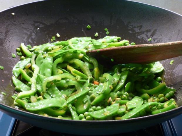 Kalbsleber-Gemüsepfanne japanisch - Rezept - Bild Nr. 4