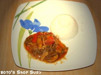 boto's Chop Suey - Rezept