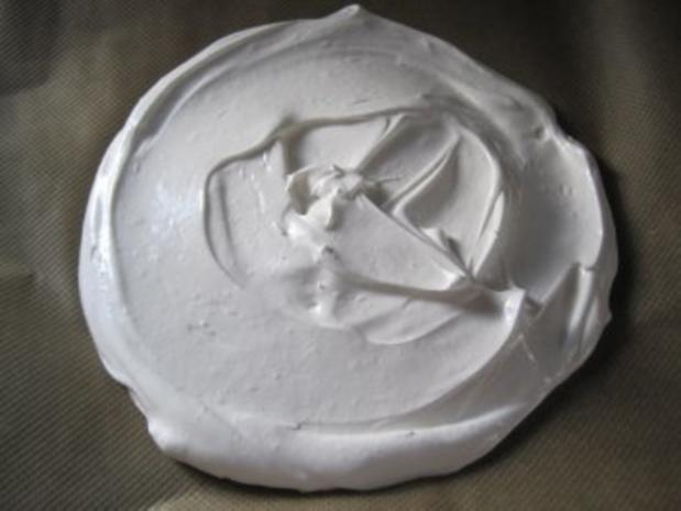 pavlova oder meringue - Rezept - Bild Nr. 3