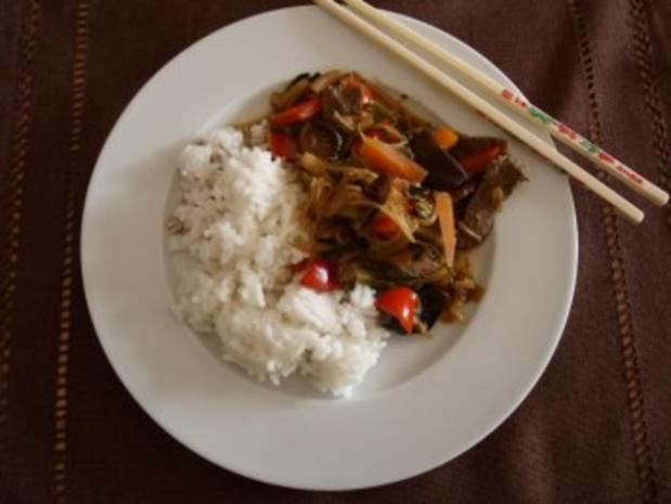 Chinesische Wokpfanne 1 - Rezept